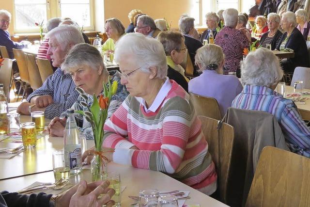 Für Senioren läuft sehr viel