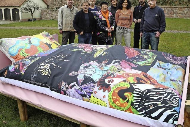Die Kunst ist weder Bett noch sanftes Ruhekissen