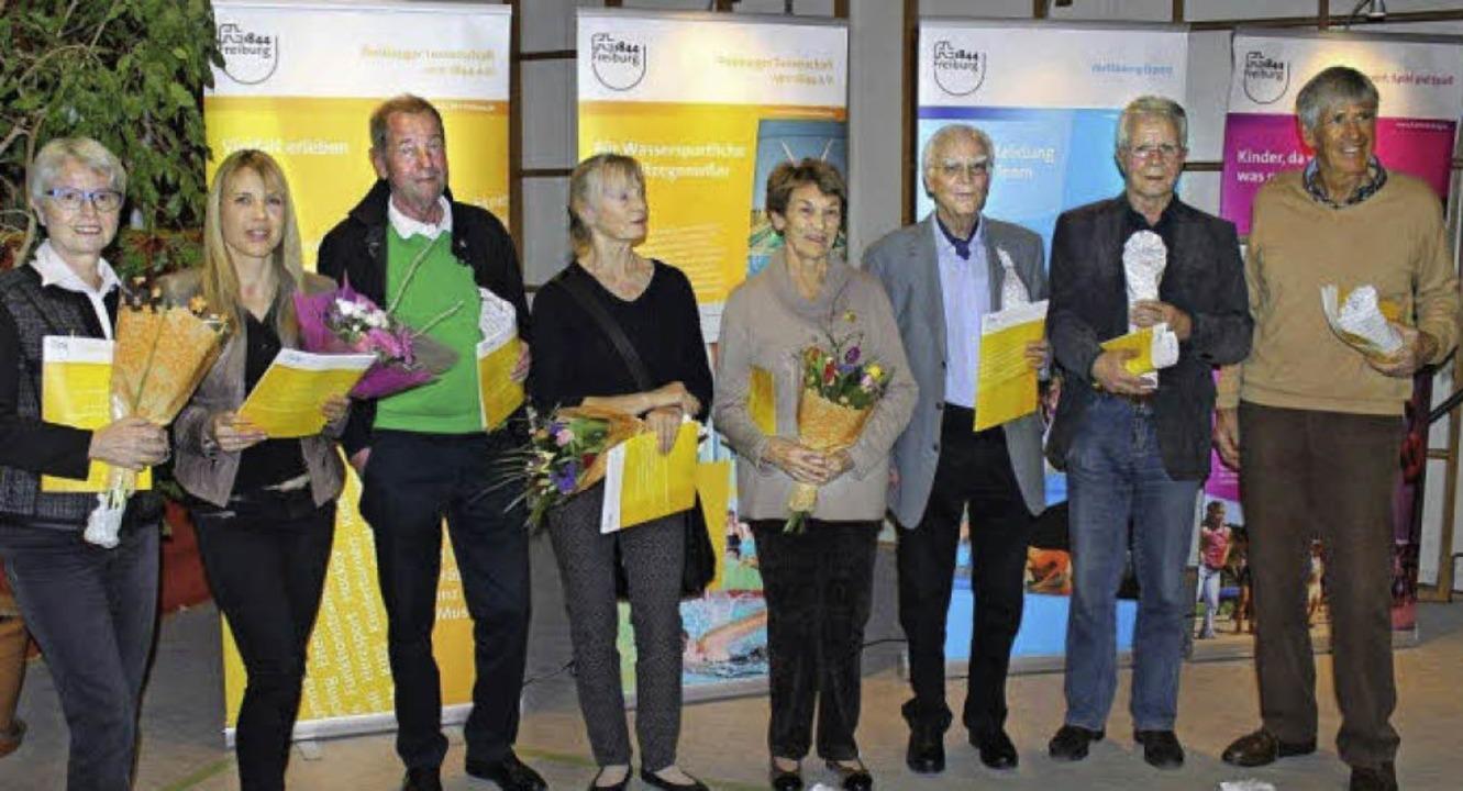 Geehrt wurden unter anderem (von links...Rainer Mülbert und Wolfgang Winterer.   | Foto: privat