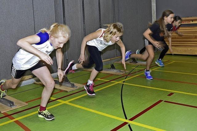 Viele sportliche Talente