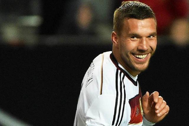 Lukas Podolski genießt im DFB-Team Anerkennung – noch