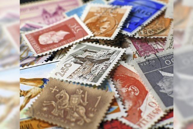 Briefmarkenschau in der Laufenburger Rappensteinhalle