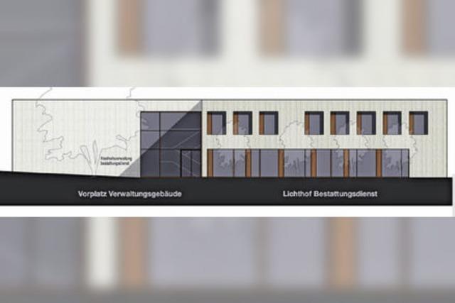 Gestaltungsbeirat lobt Friedhofsgebäude und kritisiert Pestalozzi-Entwurf