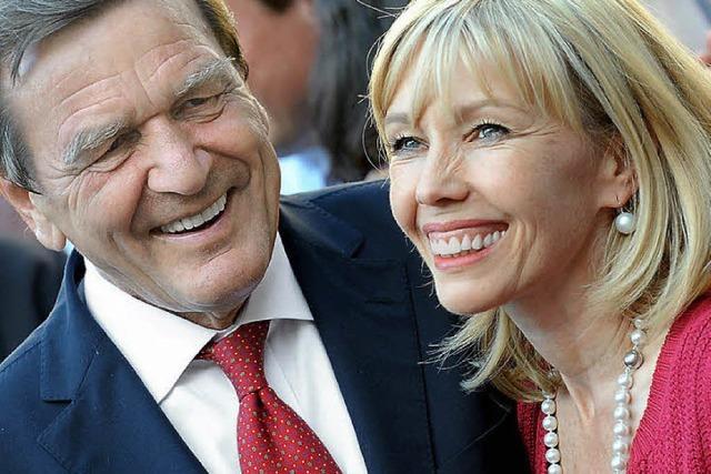 Aus und vorbei: Altkanzler Schröder geschieden