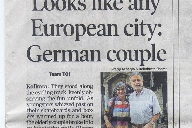 Kalkutta feiert Straßensperrung für Happy Street – zwei Freiburger fühlen sich wie zuhause