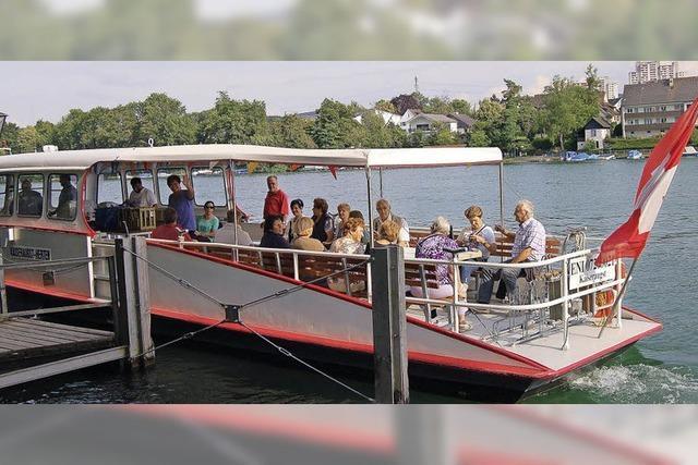 Rheinfähre zwischen Kaiseraugst und Herten fährt wieder