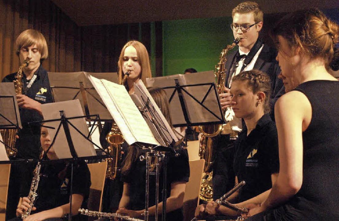 Melodien, Ohrwürmer, Erlebnisse, Freud...te auch ein Jazzensemble auf die Bühne  | Foto: Karin Stöckl-Steinebrunner