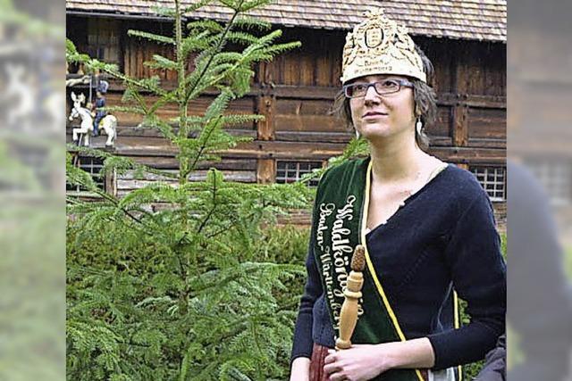 Krönung der Waldkönigin