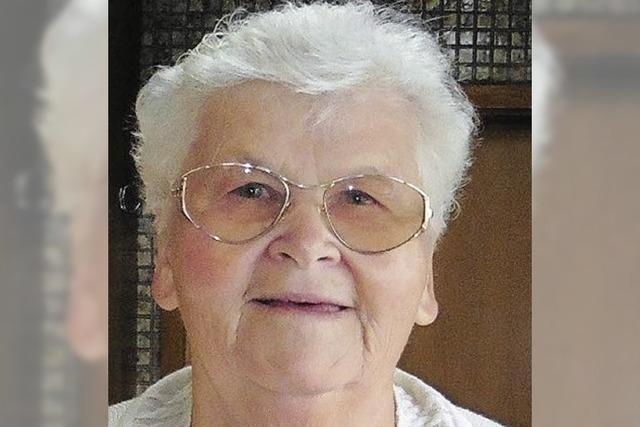 Helga Frick feierte den 80.