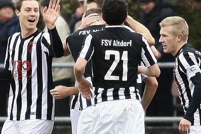 Rückenwind für den FSV Altdorf
