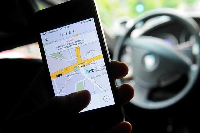 Uber bezahlt Fahrern Personenbeförderungsschein
