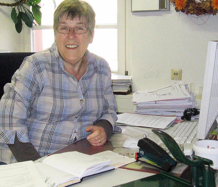 Helga Althauser hört auf - Kandern - Badische Zeitung
