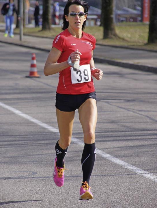 Locker zum Sieg im Halbmarathon: Jeannine Kaskel    | Foto: archiv: Miloslavic