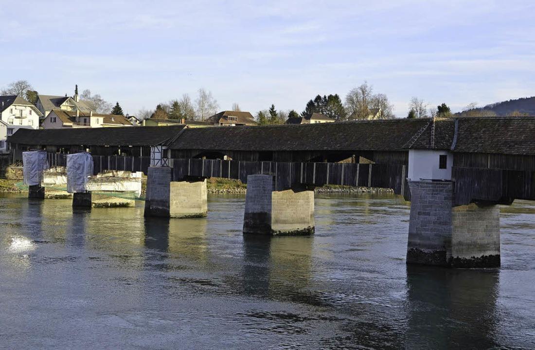 Die Sanierung der Bad Säckinger  Holzb... unterstützte das Projekt finanziell.   | Foto: Pichler