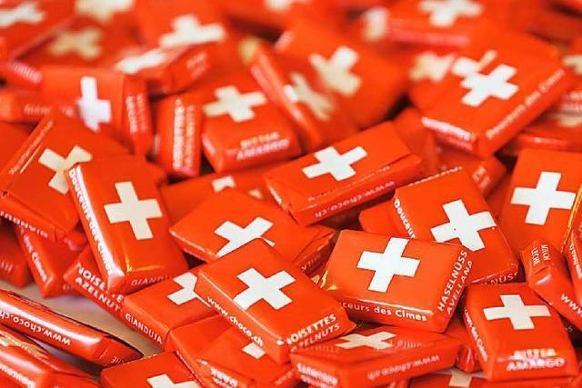 Harter Franken: Schweizer Export bricht ein