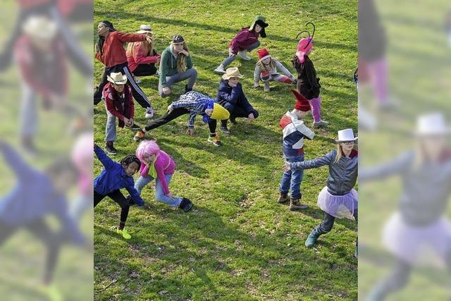 Das Kindertanzprojekt im Freiburger Stühlinger