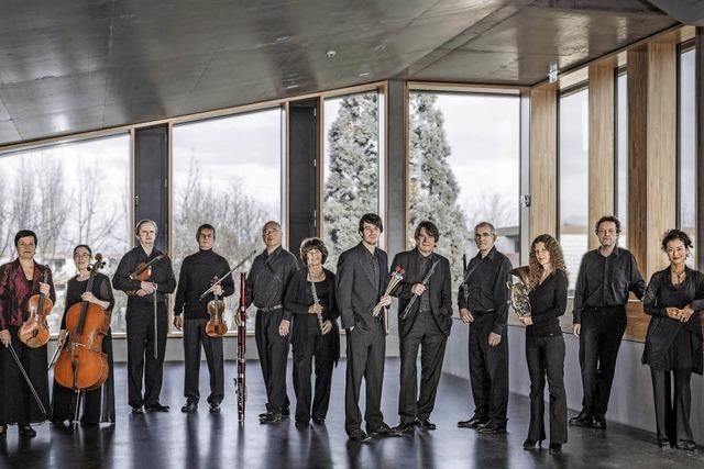 Das Ensemble Aventure konzertiert in Freiburg