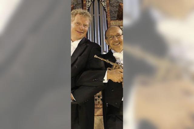 Konzert für Trompete und Orgel in Sulzburg