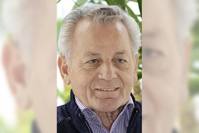 Günter Kaiser feierte seinen 80. Geburtstag