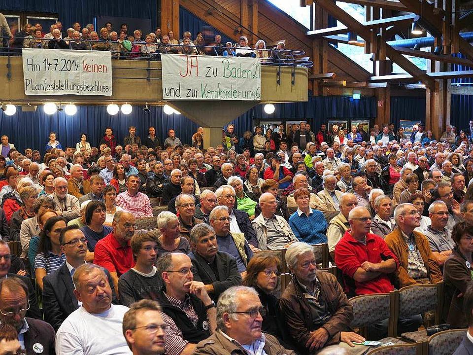 Die Veranstaltungen des BBM waren 2014...hörer ins Müllheimer Bürgerhaus kamen.  | Foto: Dorothee Philipp