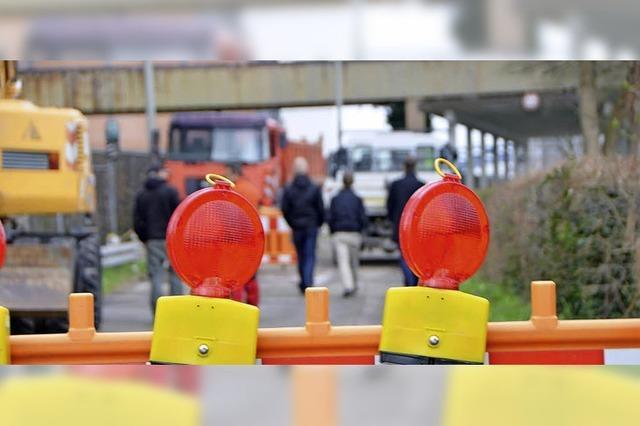 Grenzacher Versorgungsnetz undich: Wo ist das Leck?