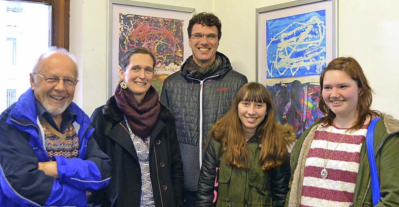 Ulrich Mentz, Anne Sallawitz und Ulric... Realschule am Giersberg (von links).     Foto: Michel Mattern