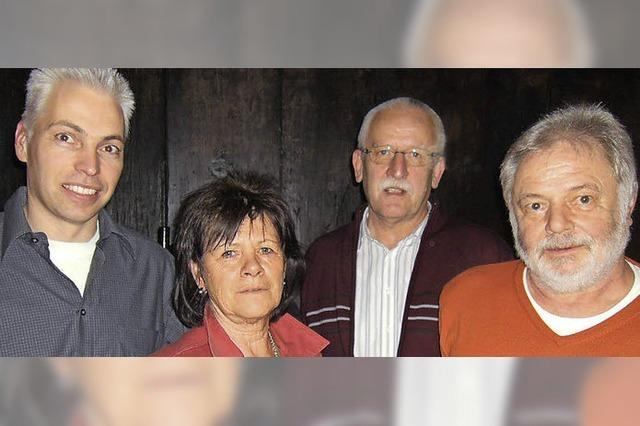 Langjährige Vorstandsmitglieder ausgezeichnet