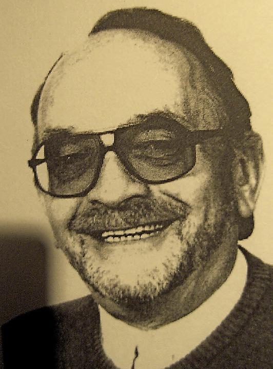 """Roland Lederle lebte von 1928 bis 2012...ikation """"E baar Hampfle"""")     Foto:  zvg"""