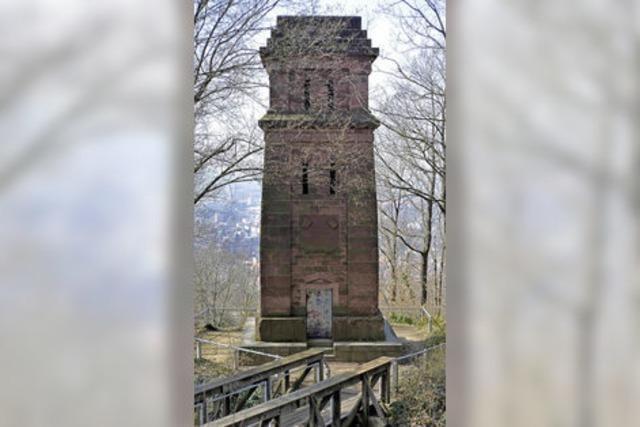 Warum es auf dem Schlossberg einen Bismarckturm gibt
