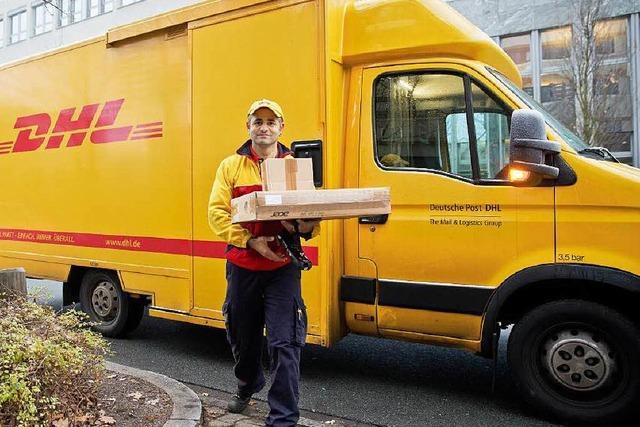 Postzusteller im Südwesten im Ausstand