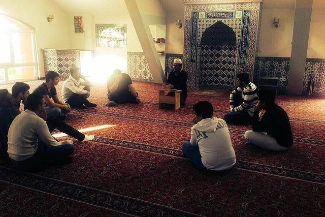 Frühstück in der Moschee