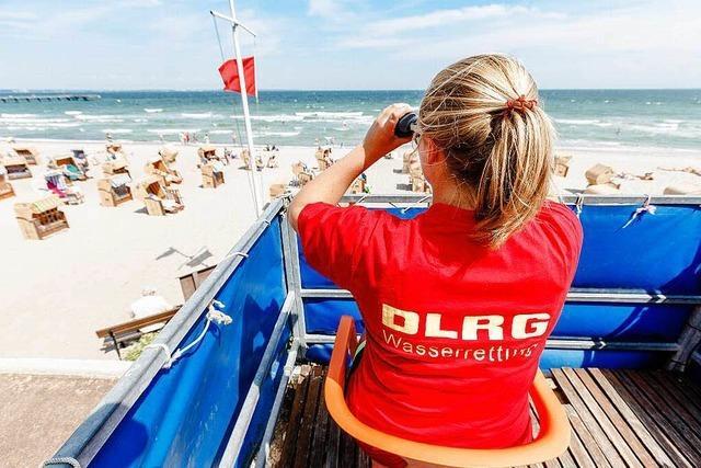 Für die DLRG ans Meer