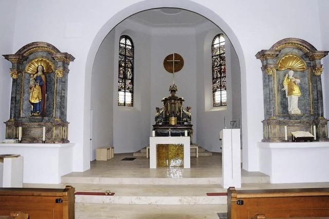 Die Kirche erstrahlt in neuem Glanz