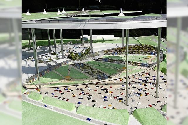 Neue Pläne für Center am Euroairport