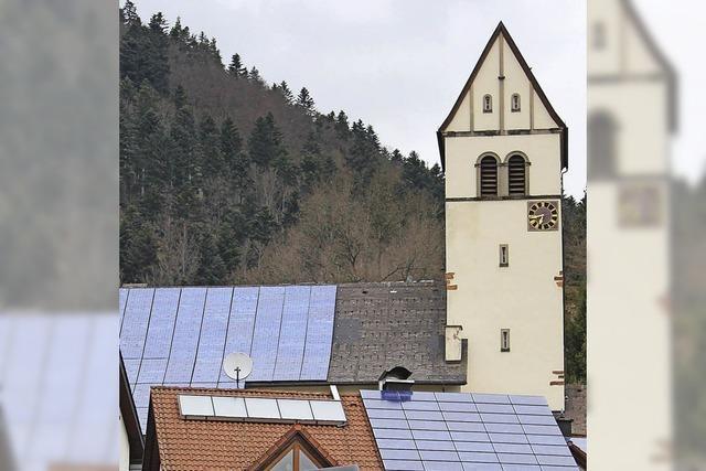 Kirche unter Strom