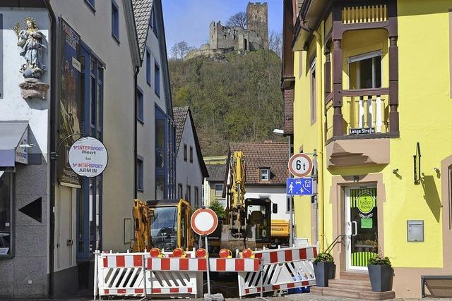 Bauarbeiten sorgen für Straßensperrungen