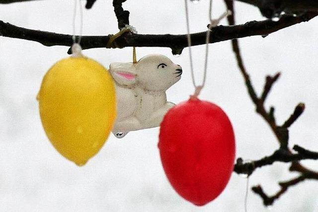 Sonne,Wolken, Regen, Schnee: Ostern wird wechselhaft
