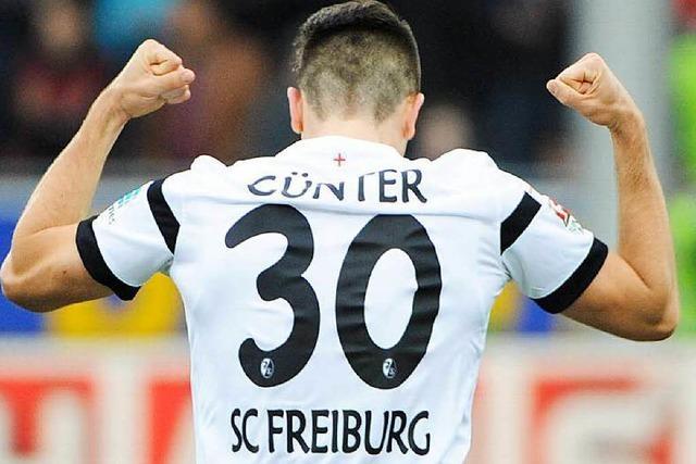 SC Freiburg verlängert den Vertrag mit Christian Günter