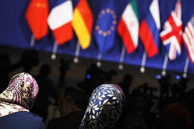 Durchbruch im Streit über das iranische Atomprogramm