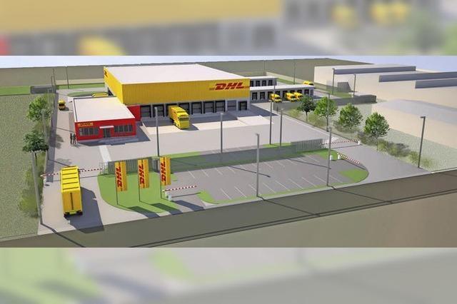 """DHL lässt zweite Niederlassung im Herbolzheimer Gewerbegebiet """"Birkenwald"""" bauen"""