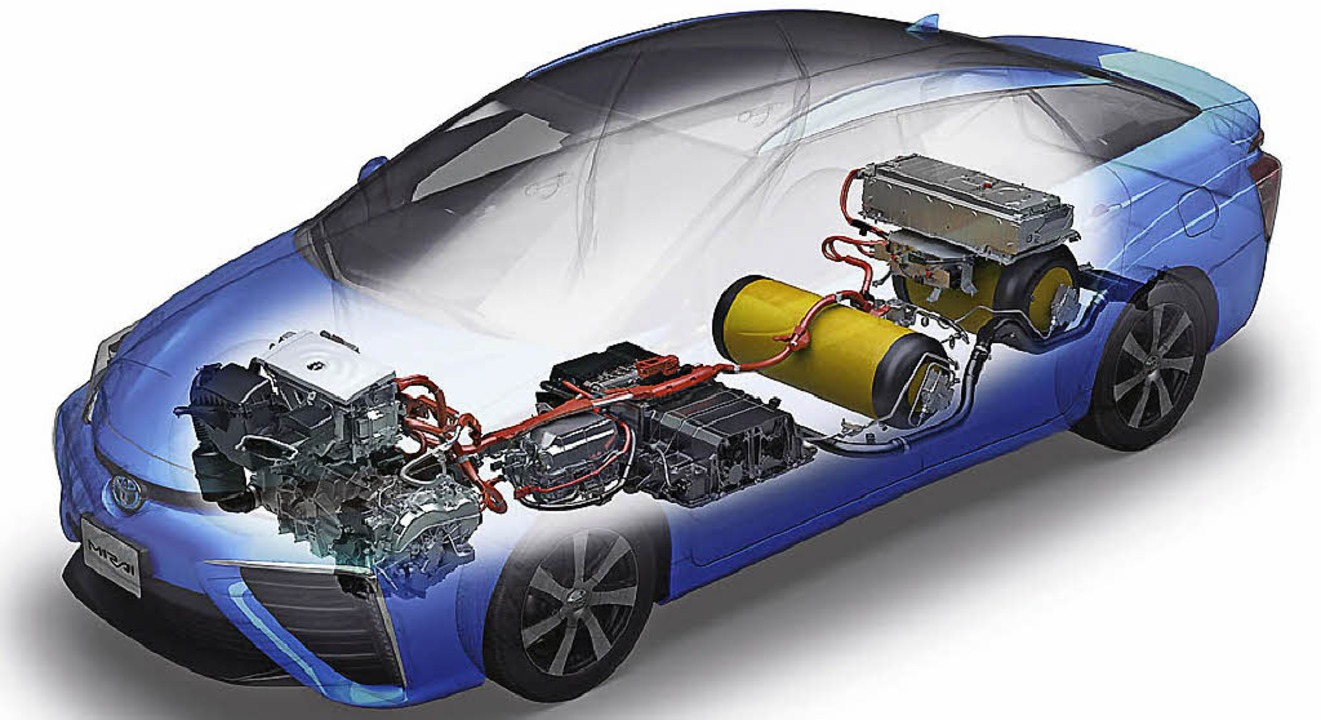 Avantgardistisch wie die Technik ist a... der Energieträger heißt Wasserstoff.   | Foto: werksfotos