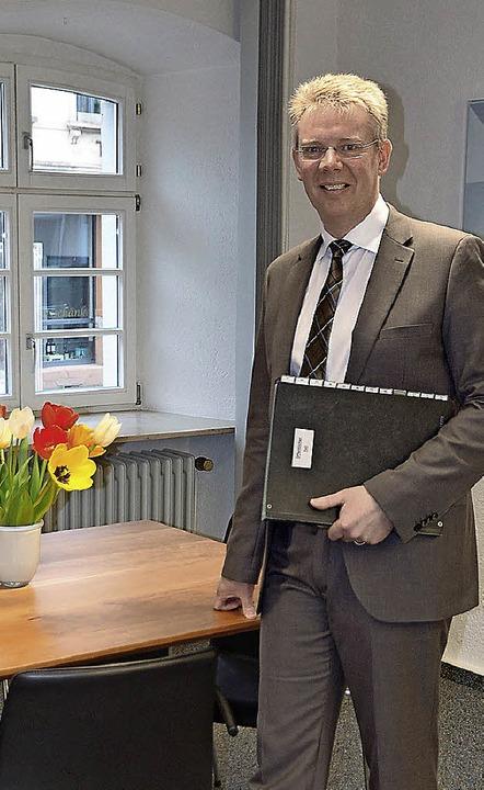 Ein Jahr im Amt: Christian Riesterer in Gottenheim  | Foto: manfred frietsch
