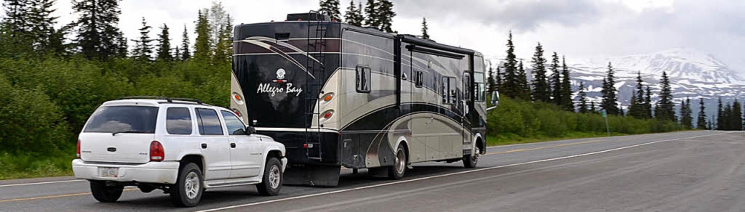 Durch die Weiten von Südalaska – mit Riesencamper plus Auto    | Foto: dpa