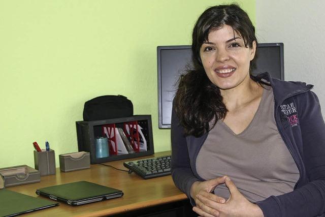 Elena Popescu eröffnet Praxis im Haus der Ärzte