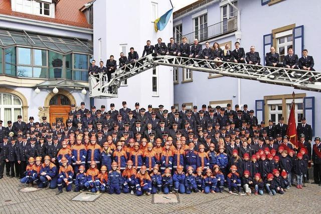 Bad Krozinger Feuerwehr feiert ihr Jubiläum