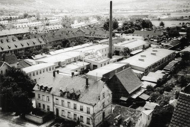 Wo früher in Haslach Büromöbel hergestellt wurden, steht heute das Gutleutviertel