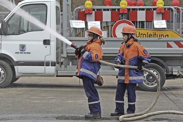 Kaum eine ruhige Minute für Feuerwehrnachwuchs