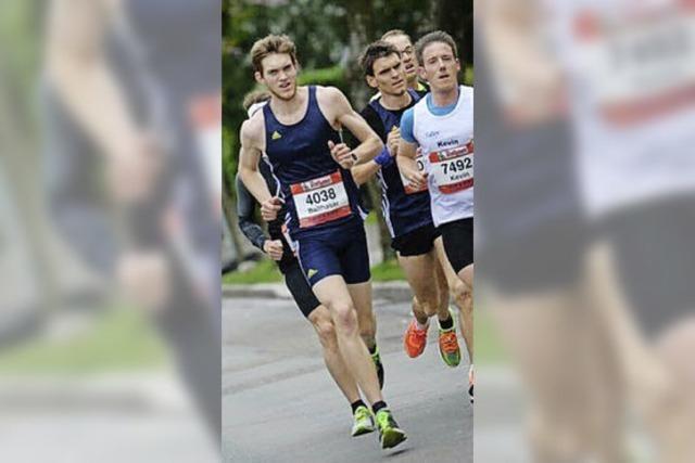 Gut platziert beim Marathon