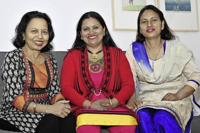 Ishwori Subedi und ihre Freundinnen haben mit Freiburger Hilfe in Kathmandu ein Frauennetzwerk aufgebau
