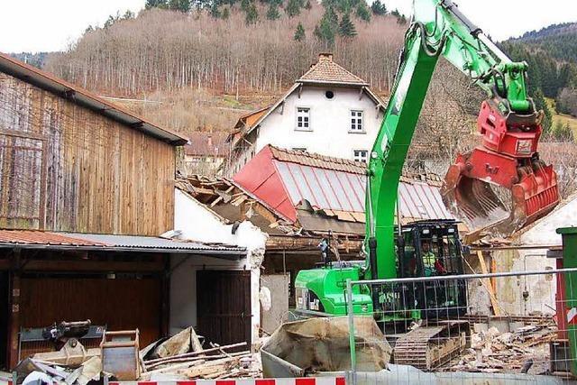 Alte Skifabrik in Todtnau wird abgerissen